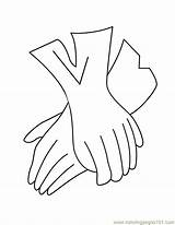 Gloves Coloring Pages Glove Printable Baseball Accessories Template Coloringpages101 Getcoloringpages Templates Entertainment sketch template
