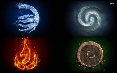 Elements Wallpapers Element Four Earth Wind Elemental
