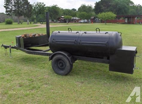Propane Pits For Sale by New 250 Gallon Bbq Smoker Trailer Ennis 75119 For Sale
