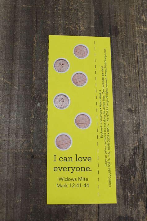 sample craft    week  bookmark sunday school
