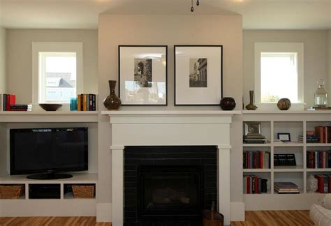 Craftsman Style Built In Bookcases by Craftsman Style Fireplace With Built Ins That Don T