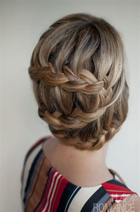 stylish braided updo hairstyle cool casual hairstyle for