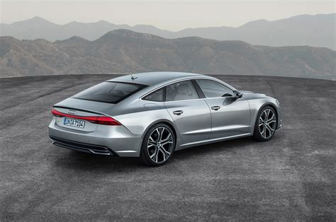 2019 Audi A7 First Look Fourdoor Fastback Gets Techier
