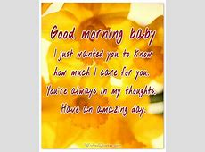 Good Morning Baby Quotes For Him   auto-kfz info