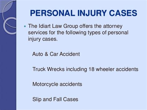 Idiart Law Group–most Prominent Personal Injury Attorney
