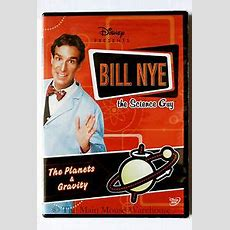 Disney Bill Nye The Science Guy Space The Planets And Gravity Educational Dvd Ebay