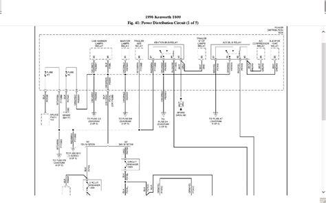 kenworth truck diagram wiring diagram