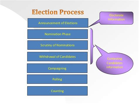 Election Process Flow Chart