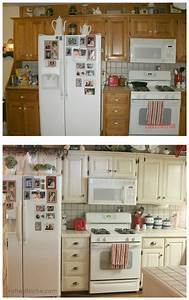 best 25 cabinet transformations ideas on pinterest With best brand of paint for kitchen cabinets with avocado sticker