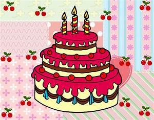 Dibujo de tarta de cumpleaños para mi mama pintado por Juliaalvar en Dibujos net el día 03 03 13