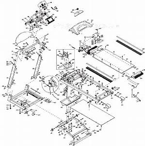 Horizon Fitness Paragonii Parts List And Diagram