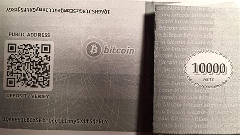 """Keep your cryptocurrency stored in a wallet or online service and only convert to money that which you'll need to spend over one of your budget cycles. Securing Bitcoin with """"Paper Wallets"""" : Bitcoin Cold Storage on a Budget - The best and worst of ..."""