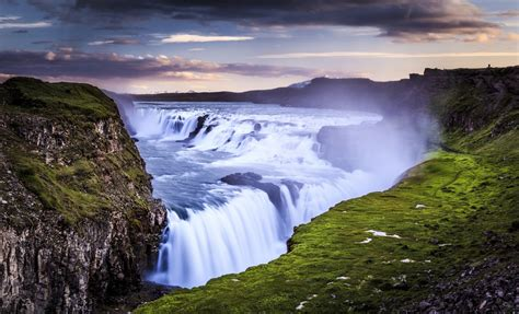Gullfoss Waterfall Backgrounds by Gullfoss Wallpapers And Background Images Stmed Net