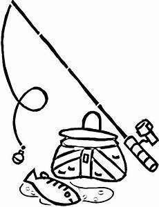 Fishing Pole Cartoon Clipartsco