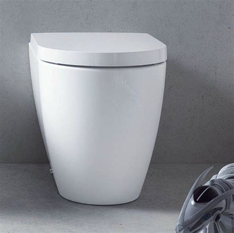 duravit   starck wall faced toilet pan  bathroomware