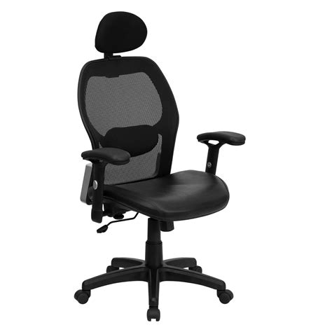 Office Desk Chairs by High Back Mesh Desk Chair In Office Chairs