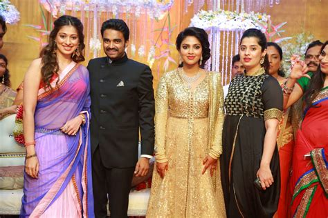 actress amala paul director vijay wedding reception