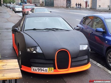 The following veyron replica comes from the… whenever a supercar is revealed, there's a good chance that someone, somewhere will create a replica. Overkill: Bugatti Veyron World Record Edition Replica in Russia - GTspirit