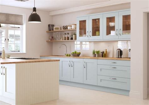 Rivington Bespoke Painted Kitchen In Mineral And Cream