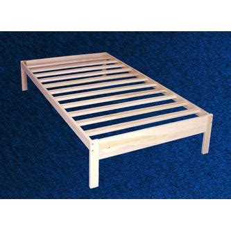 greenhome twin xl size unfinished solid wood platform