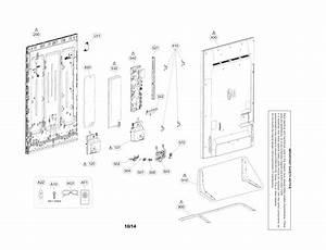 Lg 55ub8500 Lcd Television Parts