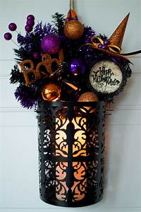 Gothic Skull Designs 18 Spooky Handmade Halloween Wreath Designs For Your Front