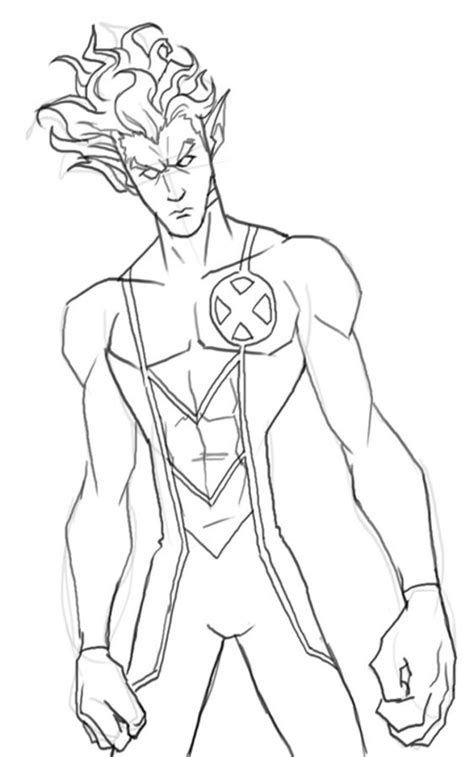 Nightcrawler Coloring Pages Coloring Pages Coloring Pages Nightcrawler Printable