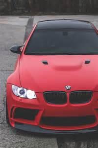 BMW M3 Matte Red