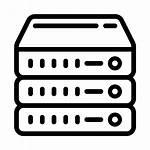 Server Icon Wired Nas Servidor Raid Secure
