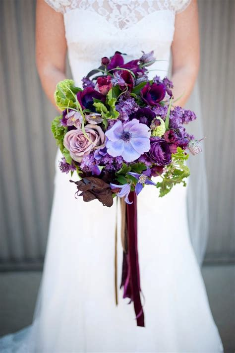 Perfect Purple Wedding Flowers To Die For Mon Cheri Bridals