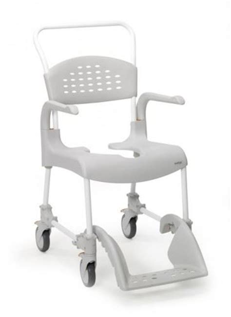 etac deluxe 2 in 1 mobile transit shower commode chair ebay