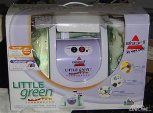 Bissell Little Green Cleaning Machine Proheat W  Turbobrush