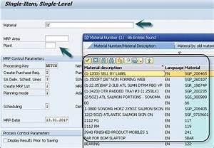 Sap Simple Logistics - Mrp Procedures