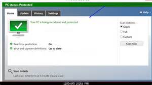 Windows 8 Defender Turn On