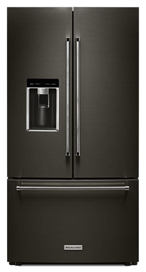 kitchenaid refrigerator door kitchenaid stainless door refrigerator krfc704fbs