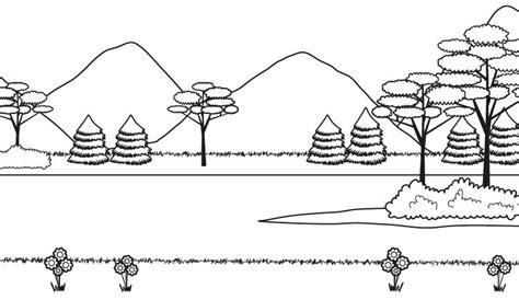 Imagenes de montañas para dibujar Imagui