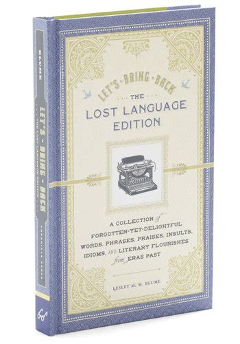 Lesley Blumes Delightful Book Lets Bring Back by Bathroom Guest Book Mod Retro Vintage Books Modcloth