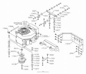 Dixon Ram 44  2005  Parts Diagram For Engine  Honda