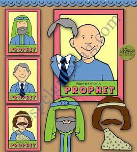 Follow The Prophet Activity   U0026quot Portrait Of A Prophet