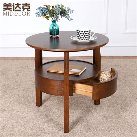 sofa side tables living room small round table wooden coffee table minimalist living
