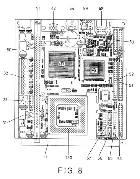 Patent US6301104 - Interface card-type motherboard for a