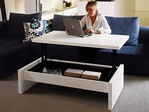Table Basse Transformable En Table Haute : bureau convertible yoyo bureaux d 39 appartement design terre design ~ Teatrodelosmanantiales.com Idées de Décoration