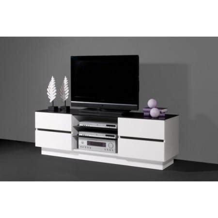 germania giro tv unit  white high gloss  black glass