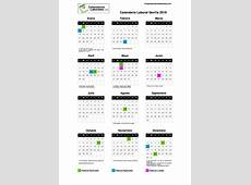 Calendario Laboral Sevilla 2019