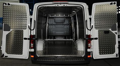 Van racking for Crafter Vokswagen