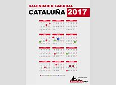 Calendario Laboral 2017 Cataluña Badalona