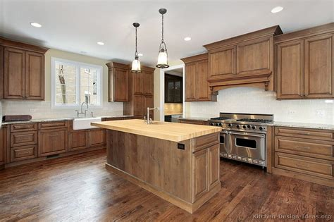 brown wood kitchen cabinets pictures of kitchens traditional medium wood cabinets 4943
