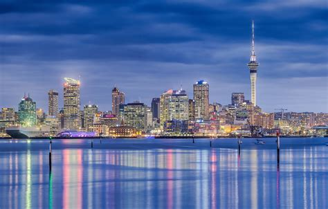 wallpaper  city panorama  zealand auckland images