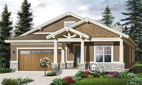 Narrow Lot Craftsman House Plans 2 Story Narrow Lot Homes