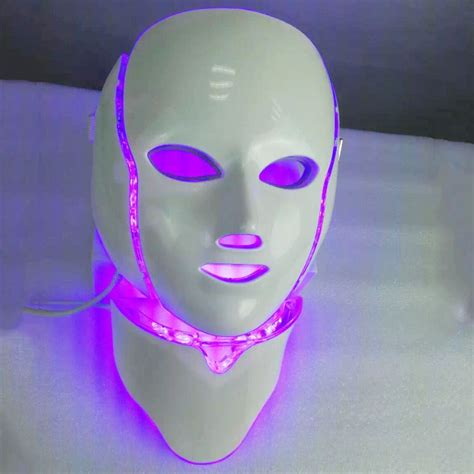led light therapy mask smart system led light therapy mask seven colors photon